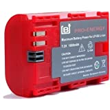 BAXXTAR PRO-ENERGY Battery for Canon LP-E6 with Chip technology - Intelligent battery system - for Canon