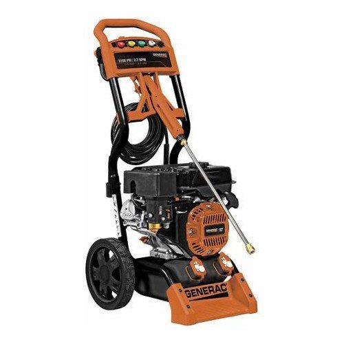 Factory-Reconditioned Generac 6692R 3,100 PSI 2.7 GPM Gas Pressure Washer (Generac Pressure Washer Gas Tank compare prices)