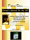 img - for Professor Dave's Owner's Manual for the SAT book / textbook / text book