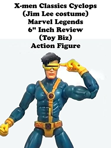 "X-men Classics CYCLOPS (Jim Lee costume) Marvel Legends review (Toy Biz) 6"" inch action figure"
