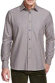 Blue Harbour Luxury Pure Cotton Double Striped Shirt [T25-7870B-S]