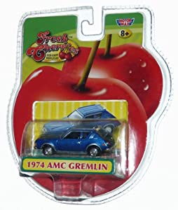 1974 AMC Gremlin Blue Die-cast 1:64 (Fresh Cherries)