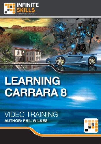 Learning Carrara 8 - Training Course for Mac [Download]