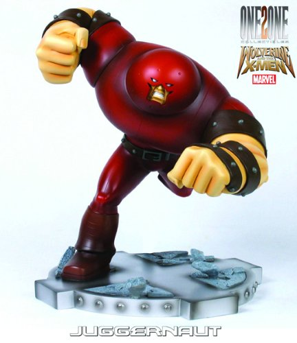 Picture of Diamond Comics One2One Collectibles Wolverine and the X-Men: Juggernaut Statue Figure (B003COI9PE) (X-Men Action Figures)