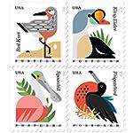 Coastal Birds Stamps Sheet of 20 Post...
