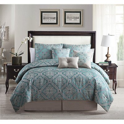 luxury-home-7-piece-albertson-print-comforter-set-teal-king
