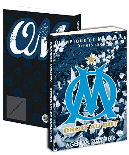 Agenda scolaire OM 2015 / 2016 – Collection officielle OLYMPIQUE DE MARSEILLE – Rentrée scolaire