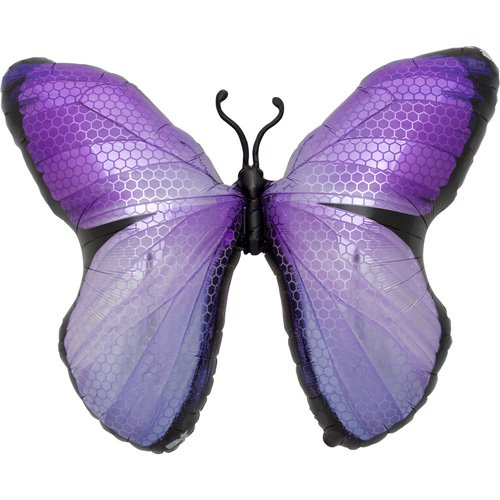 Monarch Purple Helium Foil Balloon - 31 inch