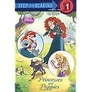 Princesses and Puppies (Disney Princess) (Step into Reading)