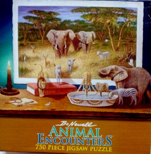 Bo Newell Animal Encounters Wild Animals Puzzle by Ceaco