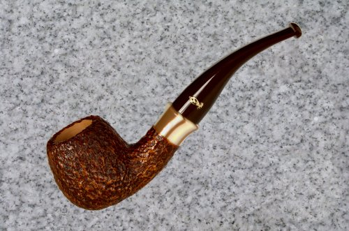 Savinelli Caramella Rustic (626) Tobacco Pipe