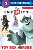 Toy Box Heroes (Disney Infinity) (Step into Reading) by Webster, Christy (2014) Paperback