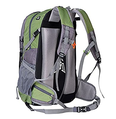 OutdoorMaster 50L Outdoor Backpack with Thick Shoulder Straps for Traveling Camping Hiking