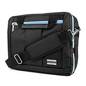 """VangoddyTM El Prado Collection 3 in 1 Backpack and Messenger Bag for Nokia Lumia 2520 10.1"""" Tablet  Aqua Blue  available at Amazon for Rs.5583"""