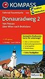 Donauradweg 2, Von Passau über Wien nach Bratislava: Fahrrad-Tourenkarte. GPS-genau. 1:50000.