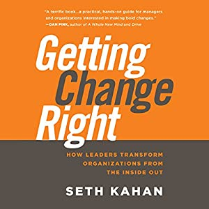 Getting Change Right Audiobook