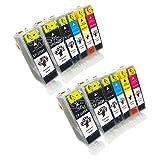 GREENSKY 12 Pack Compatible Ink Car