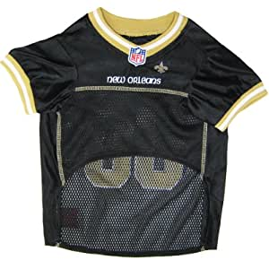 Pets First NFL New Orleans Saints Jersey, Small