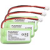 Floureon 3 Packs 2.4V 900mAh Rechargeable Cordless Phone Telephone batteries for AT&T/Lucent: BT18433, BT184342, BT28433, BT284342, BT6010, BT8000, BT8001, BT8300