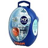OSRAM ORIGINAL Ersatzlampenbox H7, Halogen-Scheinwerferlampen, 12V PKW, CLKM H7, vollst�ndiges Ersatzlampen-Set (1 St�ck)