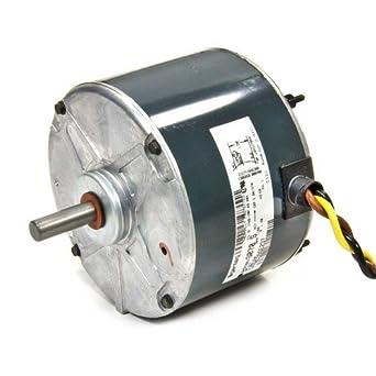 Oem upgraded ge genteq 1 12 hp 230v condenser fan motor for Hvac fan motor replacement