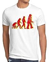style3 Évolution T-Shirt Homme The Big Bang Theory Sheldon tbbt