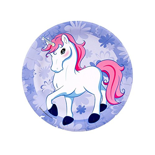 Enchanted Unicorn Dessert Plates (8) - 1