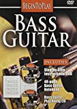 Begin to Play Bass Guitar DVD 2008 Region 1 US Import NTSC