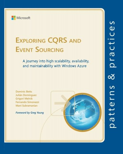 Exploring CQRS and Event Sourcing: A journey into high scalability, availability, and maintainability with Windows Azure (Microsoft patterns & practices) PDF