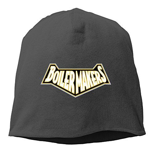 [Caromn Purdue University Beanies Skull Ski Cap Hat Black] (Dark Souls Black Knight Costume)