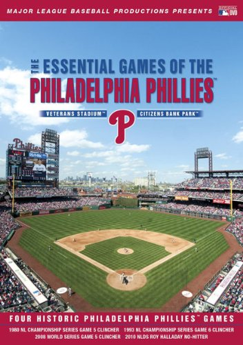 Cover art for  Essential Games of the Philadelphia Phillies