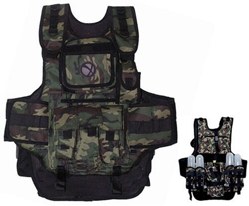 GXG Army Swat Paintball Airsoft Tactical Vest