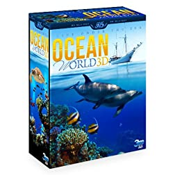 OCEAN WORLD 3D - Life under the sea (3 Disc Box Set - Special Collector's Edition) (Blu-ray 3D & 2D Version) REGION FREE