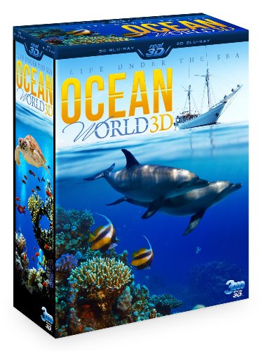 OCEAN WORLD 3D – Life under the sea (3 Disc Box Set – Special Collector's Edition) (Blu-ray 3D & 2D Version) REGION FREE