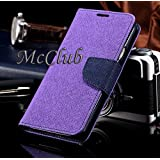 Samsung Galaxy S Duos 7562 Stylish Luxury Mercury Magnetic Classy Lock Diary Wallet Flip Cover By McClub