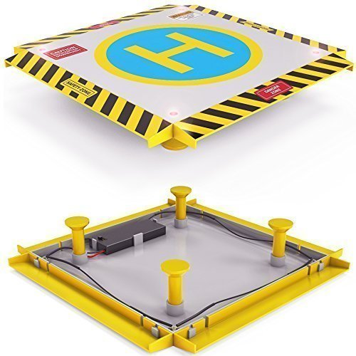 Remote Control Helicopter Landing Pad - LED Lights Installed - Suitable