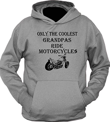 Only The Coolest Grandpas Ride Motorcycles Bike Hoodie