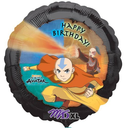 "Avatar Happy Birthday 18"" Mylar Balloon - 1"