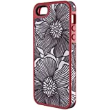 Speck Products FabShell Fabric-Covered Case for iPhone 5 & 5S  - FreshBloom Coral Pink/Black