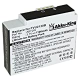 Akku-King Battery compatible with CISCO / PURE Flip Video UltraHD 8GB / U3120 - replaces ABT2W - Li-Ion 1100mAh