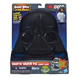 Teleport your figures into the new app! Then store your Telepods collection in this Star Wars Angry Birds Darth Vader Pig Collector Case. Standing 11-inches tall, it looks remarkably like the Dark Lord of the Sith and holds up to 30 figures, launchers, stacking blocks, and base. Ages 5 and up.