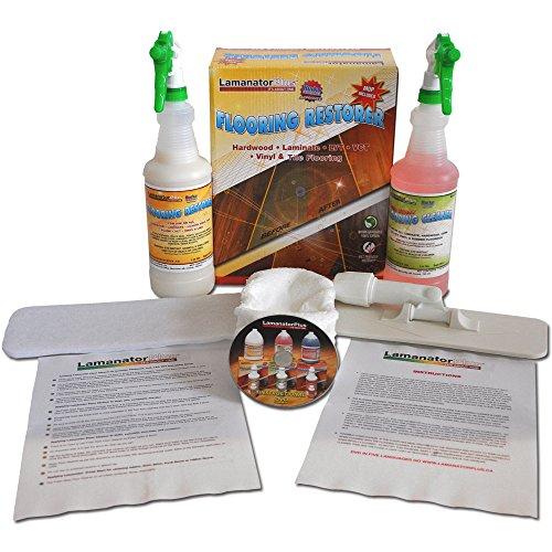 Lamanator Plus Floor Restoration Kit - Clean, Shine & Restore Laminate (Lamanator Plus Flooring Cleaner compare prices)