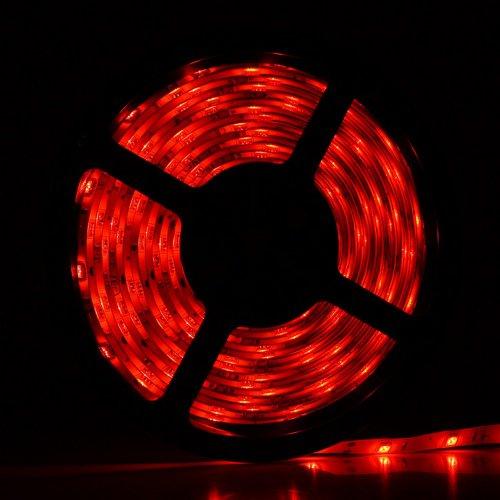 Yesurprise 5M 5050 Smd 150 Dc 12V Led Strip Light Red