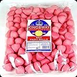 Kingsway Paint Balls Sugar Coated Red Marshmallows - 900G Bulk Pack