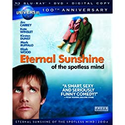 Eternal Sunshine of the Spotless Mind [Blu-ray + DVD + Digital Copy] (Universal's 100th Anniversary)