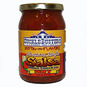 Mexican Style Salsa Hot by SuckleBusters