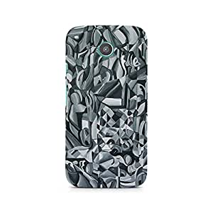 Mobicture Abstract Texture Printed Phone Case for Motorola Moto G