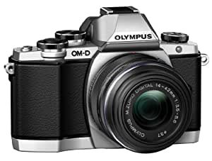Olympus OM-D E-M10 16 MP Mirrorless Digital Camera with 14-42mm 2RK lens (Silver)