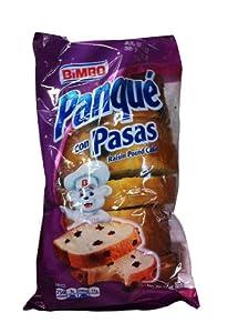 Amazon.com : Bimbo Panque con Pasas - Raisin Pound Cake 8.82 oz