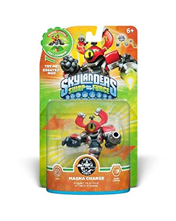 Skylanders SWAP Force Character Magna Charge